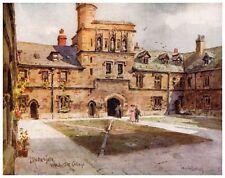 WINCHESTER College Medio Gate, WILFRIED Palla stampa 1907