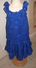 NWOT Beautiful Designer SONIA RYKIEL Girls Cobalt Blue Skirt  16Y