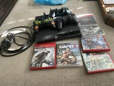 Sony PlayStation 3 Slim Uncharted 3 320GB Charcoal Black Console (PS398438)