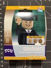 Oyo Sports Minifigure Texas Christian University TCU Graduate Alumni Lego Male