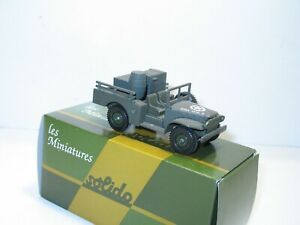 Solido, Petit Truck Dodge 4X4 With Of Crates And Fut, Military USA