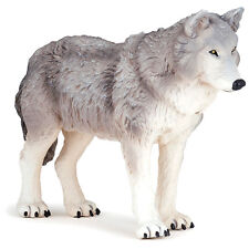 PAPO Wild Animal Kingdom Large Wolf 50211 NEW