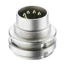 1 x Lumberg 5 Pole Din Plug 0314 05, Male, Wall Mount, Solder, 5A, 60V ac