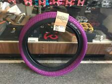 "SUNDAY BIKES STREET SWEEPER BMX TIRE - 20"" x 2.4"" PRIMO CULT ODYSSEY- PURPLE"