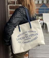 Sac Cabas Louis Vuitton Toile Article De Voyages Paris