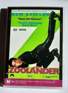 Zoolander  Bent Stiller  PAL DVD R4 VGC