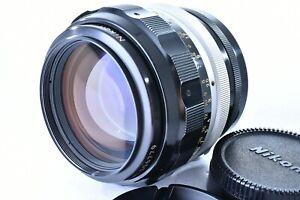 Opt MINT/ NIKON NIKKOR-H 85mm F1.8 non-Ai MF Prime Lens from Japan #1224