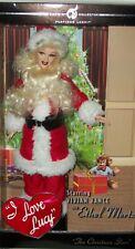 Santa Ethel Mertz Vivian Vance Platinum Label Barbie Collectible Rare Xmas Gift