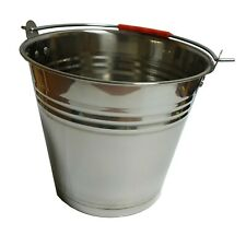Edelstahleimer Metalleimer Wassereimer Verschiedene Größe 5L,7L,10L,12L,16L