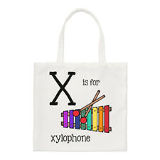 Letters x is for Xylophone Small Bag-Shoulder Alphabet CuteFunny