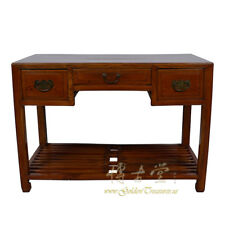 Chinese Antique Carved Beech wood Writing Desk/Console Table 17Lp15
