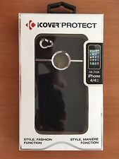 iCOVER PROTECT CASE FOR iPHONE 4 & 4S (Black)
