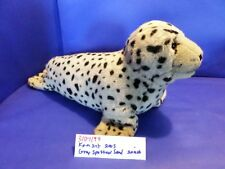 K&M International Grey Spotted Seal 2005 beanbag plush(310-1199)