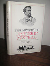 1st/1st Printing THE MEMOIRS Frederic Mistral NOBEL PRIZE Rare CLASSIC