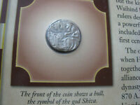 Shahi Silver Jital Coin, Struck between 750 to 900 A.D.