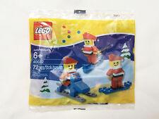 LEGO #40022 Mini Santa Set polybag Christmas Holiday 72 pcs NEW