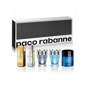 Brand New & Genuine Sealed Paco Rabanne Men's Special Travel Edition Giftset