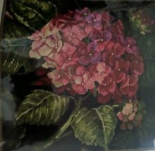 Dimensions Hydrangea Bloom Flowers Picture or Pillow Needlepoint Kit #20053