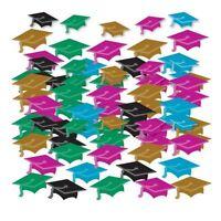Graduation Mini Hat Confetti Celebration Party Table Sprinkles