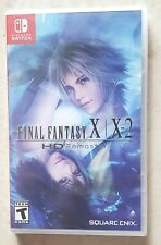 Final Fantasy X|X-2 Hd Remaster (Nintendo Switch, 2019) - New Sealed
