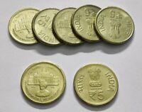 India Commemorative Issue - 5 Rupees Mysore University 2016 Mumbai Mint