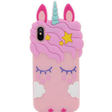 3D Cartoon Soft Silicone Rubber Kid Case Cover For iPhone 4 5 6 7 8 X Touch 6 5