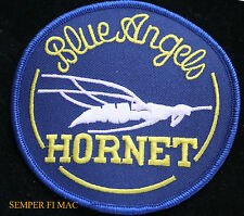 BLUE ANGELS F-18 F/A18 HORNET PATCH USS NAS PENSACOLA US NAVY MARINES MCAS PILOT