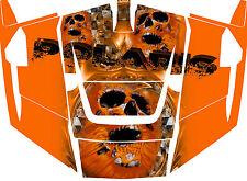 Polaris 1000 rzr 4 Skull Graphic Kits Decal Wraps RZR 1000 4 Door Graph