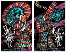 Queens Of The Stone Age Poster Set St. Paul Signed Matching Numbered Set #/288