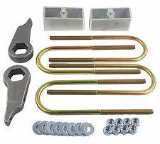 "Ford Ranger Lift Kit Forged Torsion Keys 2"" Aluminum Blocks & Ubolts 1998-11 4x4"