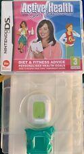 Active Health with Carol Vorderman (Nintendo DS) Pedometer Activity Meter New