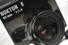 Voigtlander NOKTON classic E 35mm F1.4  for Sony E  mount, MINT+++