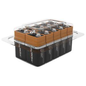 Duracell Plus 9V 6LR61 PP3 Batteries   10 Bulk Pack