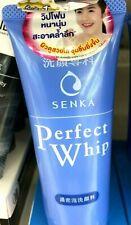 Shiseido Senka Perfect White Face Wash Cleanser Whip Foam Cleansing 120g
