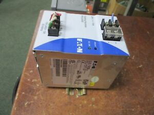 Eaton Power Supply PSG240E-A1 Input: 100-240V 5A 50-60Hz Output: 24VDC 10A Used