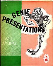 Genie Presentations-Will Ayling Magic Book-1st Ed-Silks Cards Close-Up Children