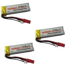 NEW Tenergy Blade 120 Sr 120SR 3.7v 1s 500mah 15C LiPo Battery Pack (3) TEN30536