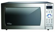 Panasonic Nn-Sd775S 1.6 Cu Ft Cyclonic Wave Stainless Front & Silver Body Dial