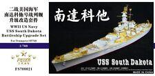 Five Star 1/700 700021 USS South Dakota for Trumpeter