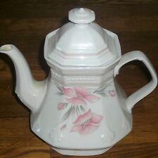 1  Teekanne  + Deckel  1,2 L   Mitterteich  SISSI  Rosa rot  Form 2040