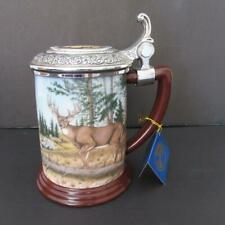 Franklin Mint 'Official 10 Point Buck Collector Tankard' By Rick Fields (Nwob)
