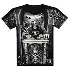 Men's 3D Print Skull Summer Short Sleeve Casual T-Shirts Personalized Tee Shirt