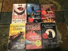 Charlaine Harris True Blood Series lot of 6 paperback books