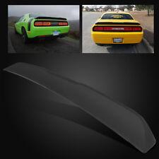 For 08-18 Dodge Challenger SRT Sport Style Matte Black Rear Trunk Spoiler Wing