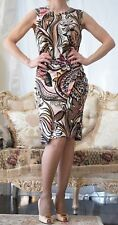 New EMILIO PUCCI Runway Multicoloured Stretchy Dress. It 42, US 6-8, UK 10,S-M