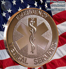 EMS - Emergency Medical Services 1 oz .999 Copper Round