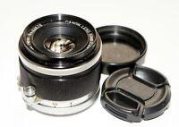 Canon Lens 50 mm 2.8 Lens Leica LTM M39 Rangefinder Coupled
