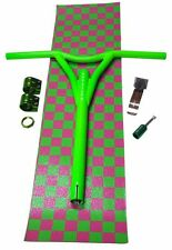 DERAiLED Scooter Pack Green, Bars, Peg, Brake, Grip Tape and Clamps FREE POST!!!