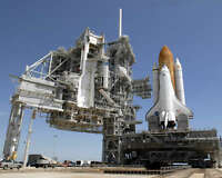 SPACE SHUTTLE ENDEAVOUR STS-127 ON PAD 8x10 PHOTO NASA