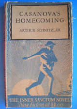 Arthur Schnitzler CASANOVA'S HOMECOMING Simon & Schuster Inner Sanctum 1930